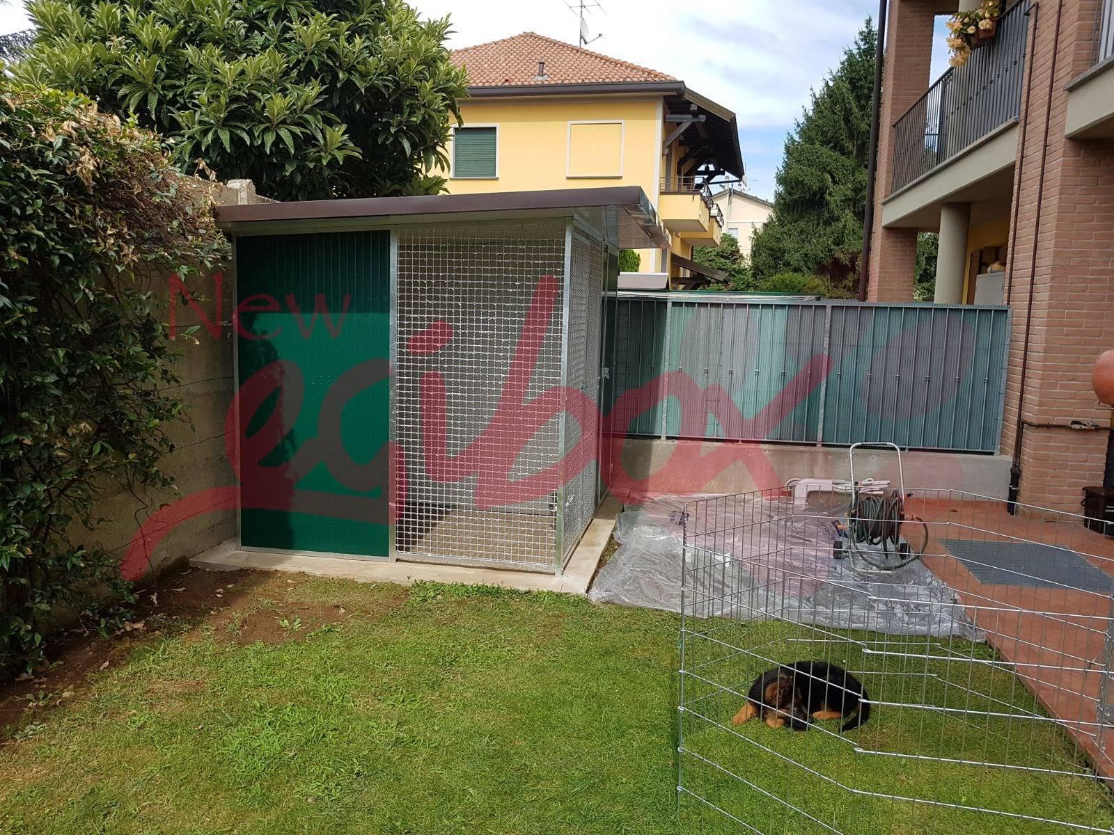 Box per cani in rete