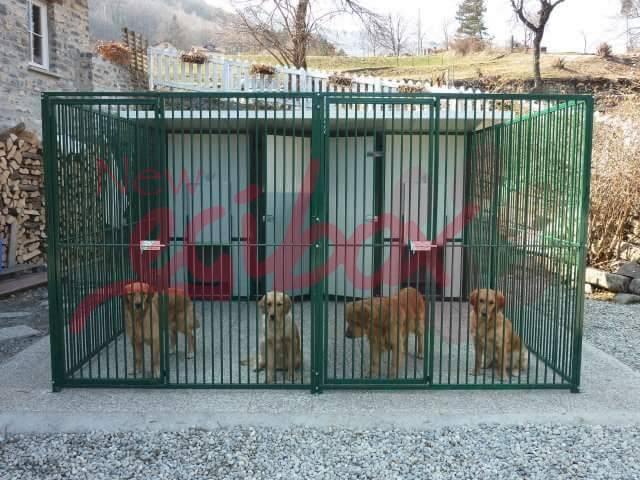 Box per cani in tubolare